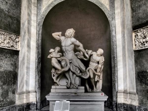 05バチカン美術館ラオコーン像