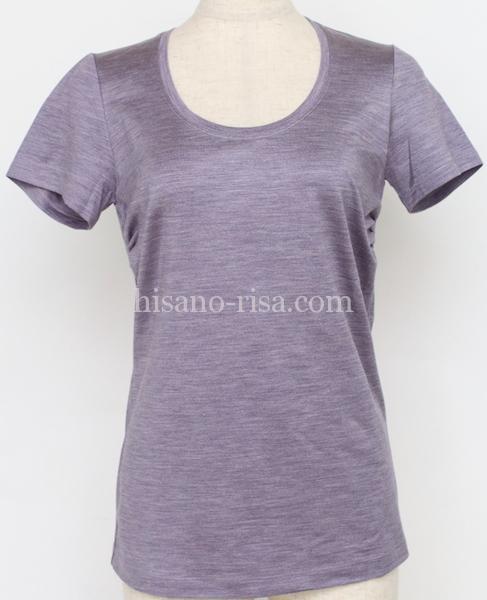 大人っぽくおしゃれに見えるTシャツの質感、良い例