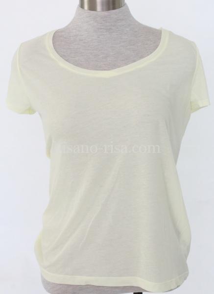 女らしさを演出するTシャツの「触感」