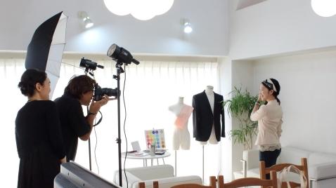 パーソナルスタイリストrisaがファッションの取材を受けました
