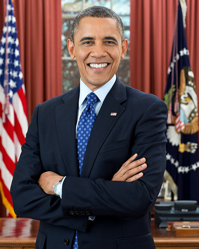 オバマ大統領のプロフィール写真2013年版