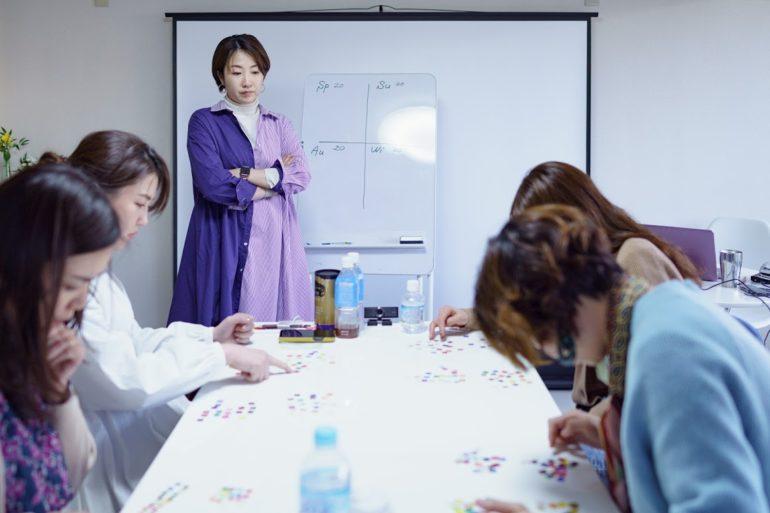 パーソナルカラー診断を学んでも、実践で使えない!を防ぐための特訓