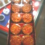 おしゃれな手土産☆ミニ月餅