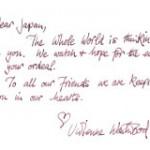 ヴィヴィアン・ウエストウッドからのメッセージ