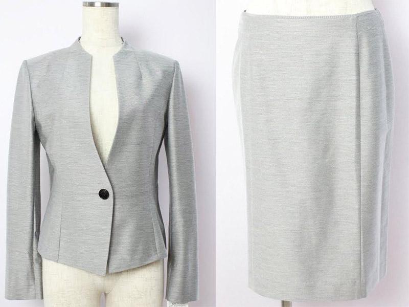 幅、丈に余裕があるシルエットのスーツを選ぶと普段使いもできる